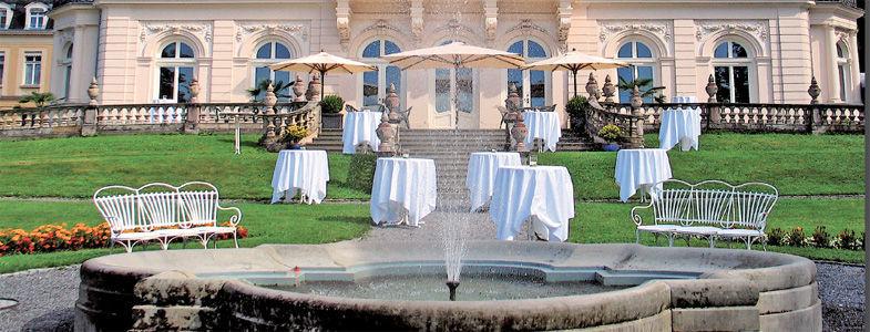 Beispiel: Blick auf die Villa, Foto: Villa Raczynski.