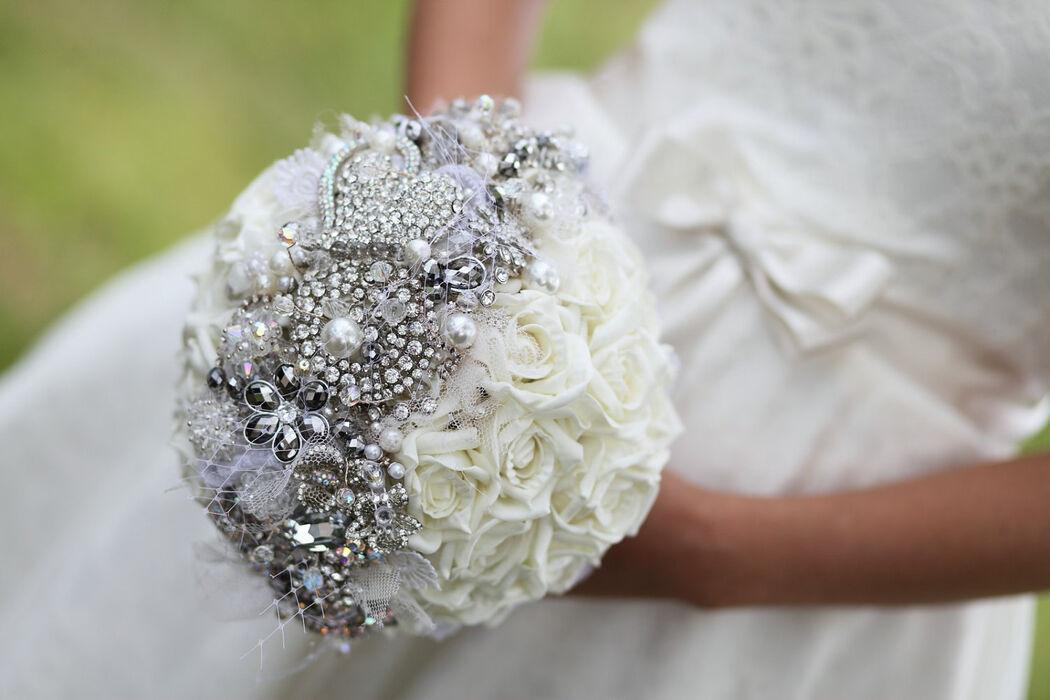 Bouquet com Strass