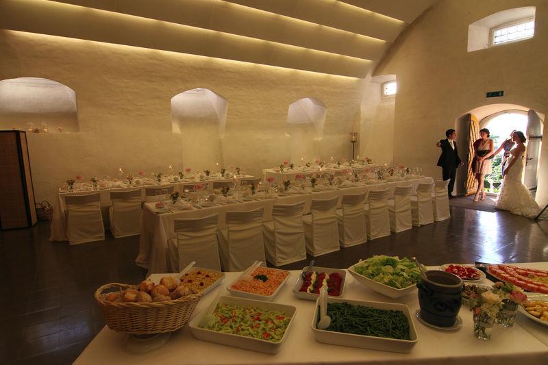 Beispiel: Buffet, Foto: Schloss Heidegg.