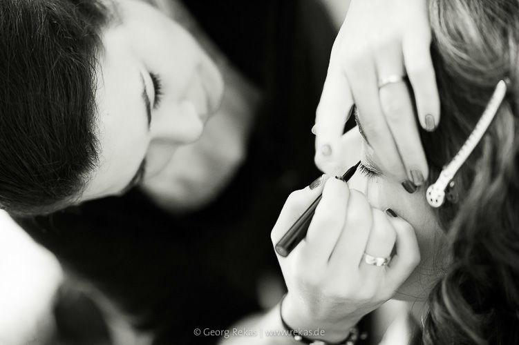 Beispiel: Vorbereitungen, Foto: Georg Rekas.