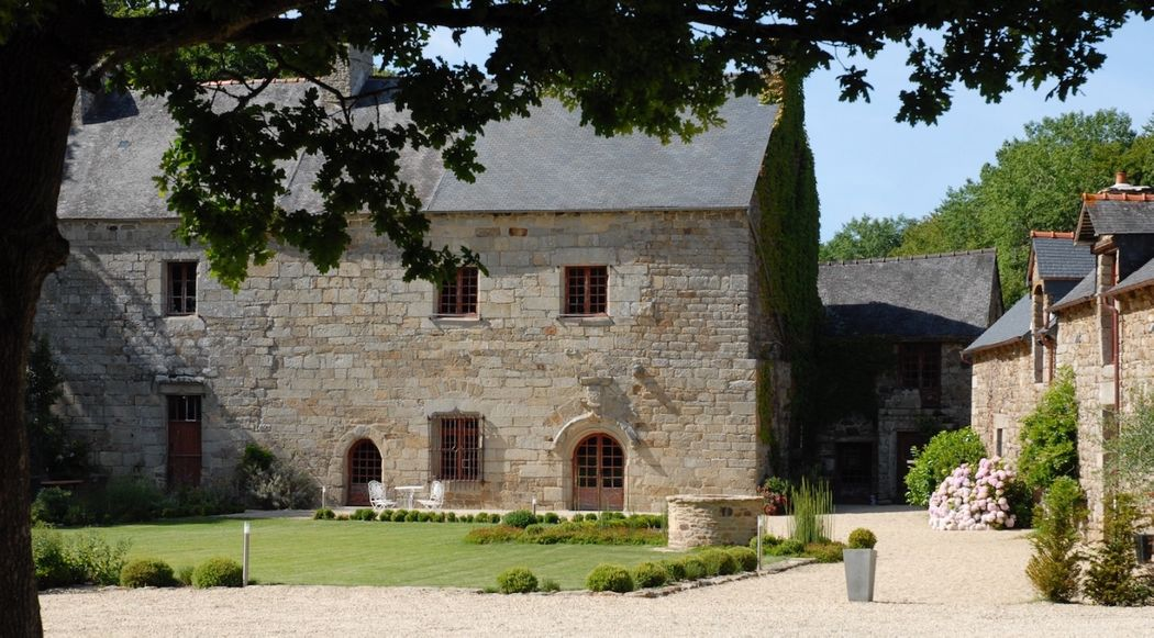 Cour d'honneur - Manoir de La Mare Côtes d'Armor