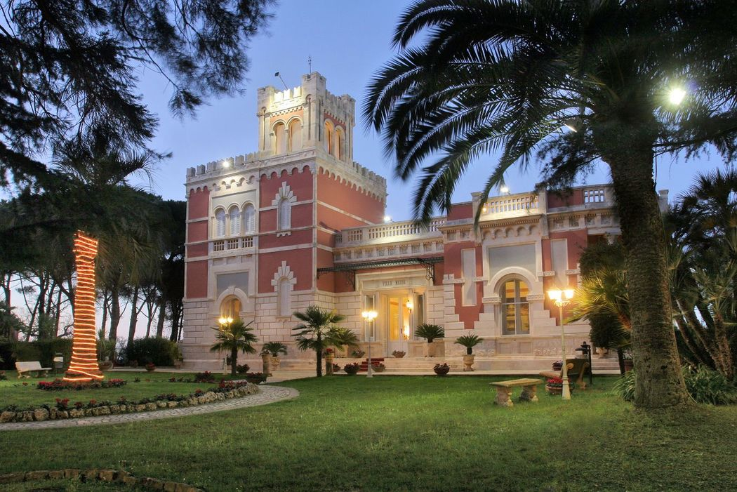 Villa Maria di sera