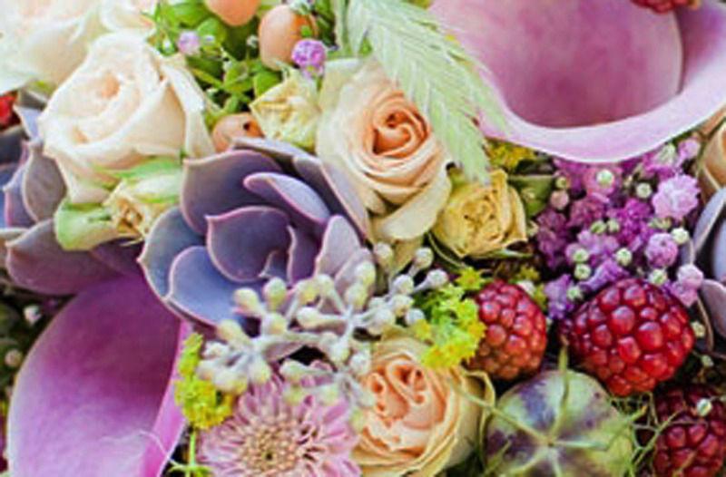 Beispiel: Tolle Farben und frische Blumen, Foto: Blattglanz.