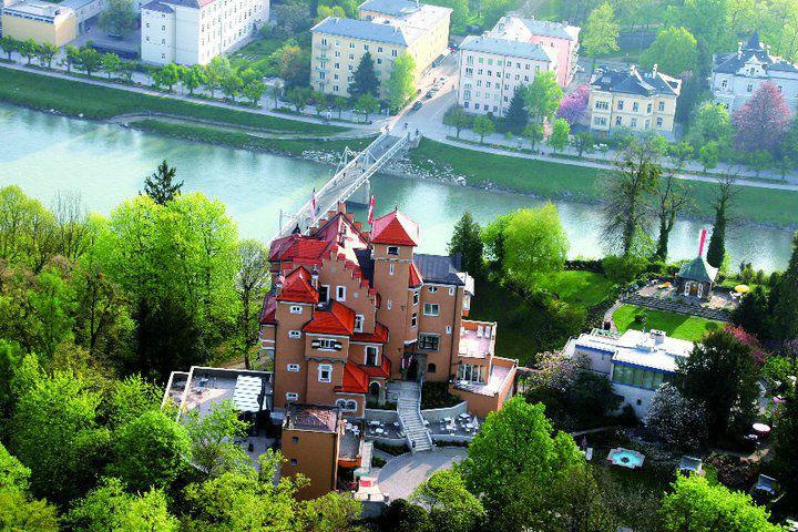 Luftaufnahme, Foto: Hotel Schloss Mönchstein.