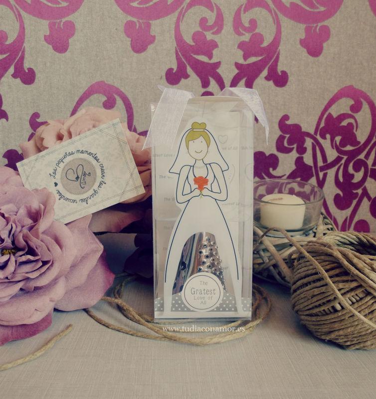 Detalle divertido y original para mujer, rallador de queso novia