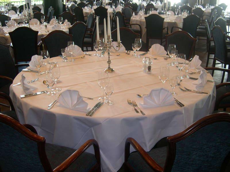 Beispiel: Bankett - Tischdekoration, Foto: Kieler Schloss.