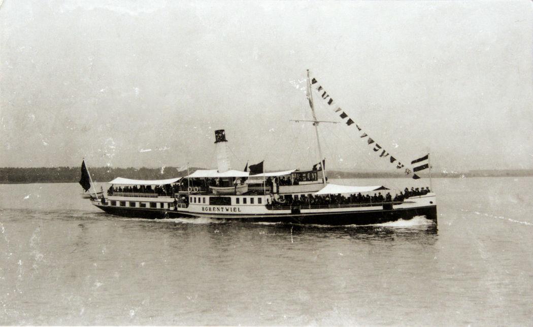 Beispiel: Geschichte des Schiffes, Foto: Hohentwiel Schifffahrtsgesellschaft.