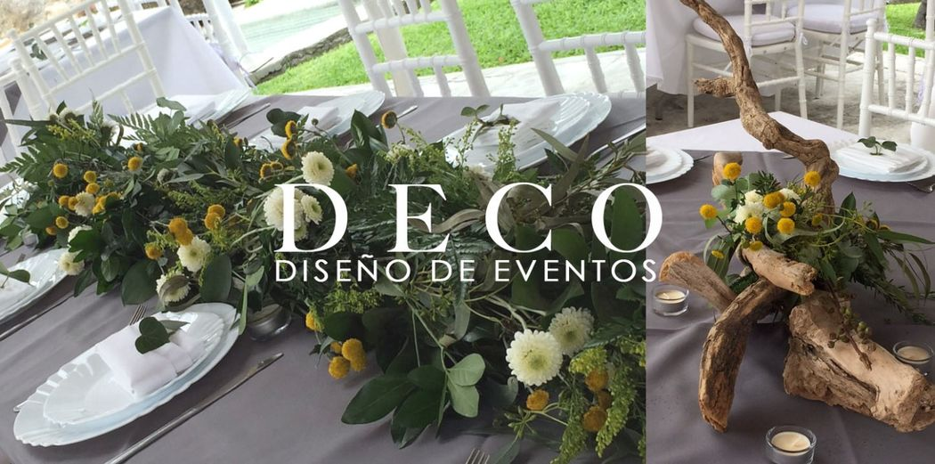 Woodland, tendencias 2015 por DECO diseño de eventos
