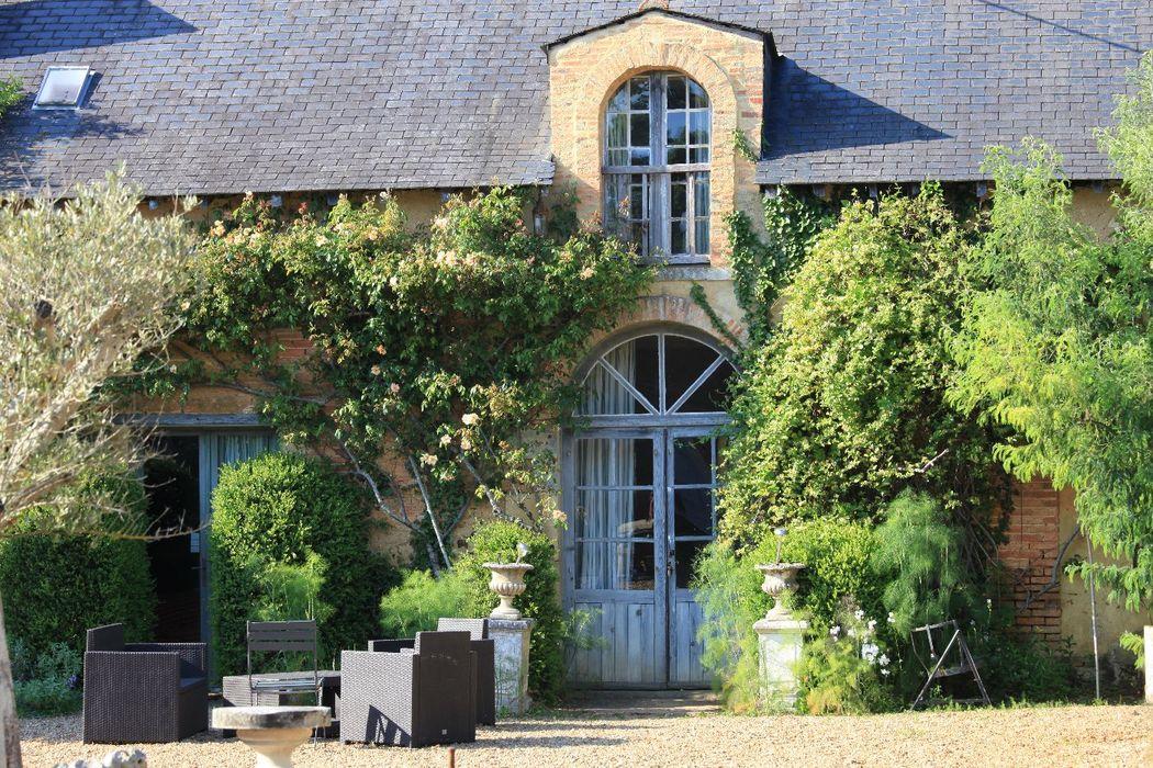 Château de Chambiers- hébergement cottage La Maison du Jardinier