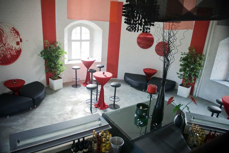 Beispiel: Eindruck von den Räumlichkeiten, Foto: KunstTurm Weimar.