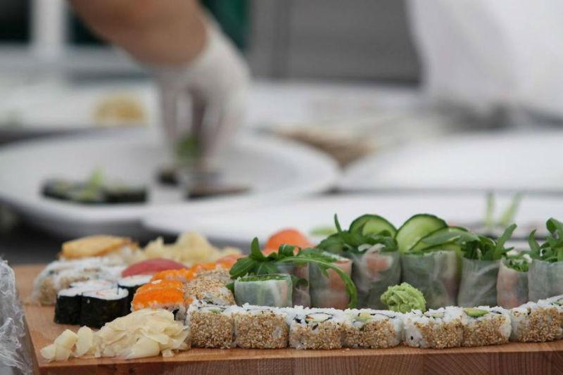 Beispiel: Leckeres Finger-Food, Foto: Golden Catering.