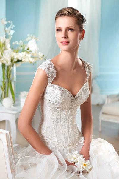 Beispiel: Hochzeitsmode, Foto: Mery's Couture Aarau.