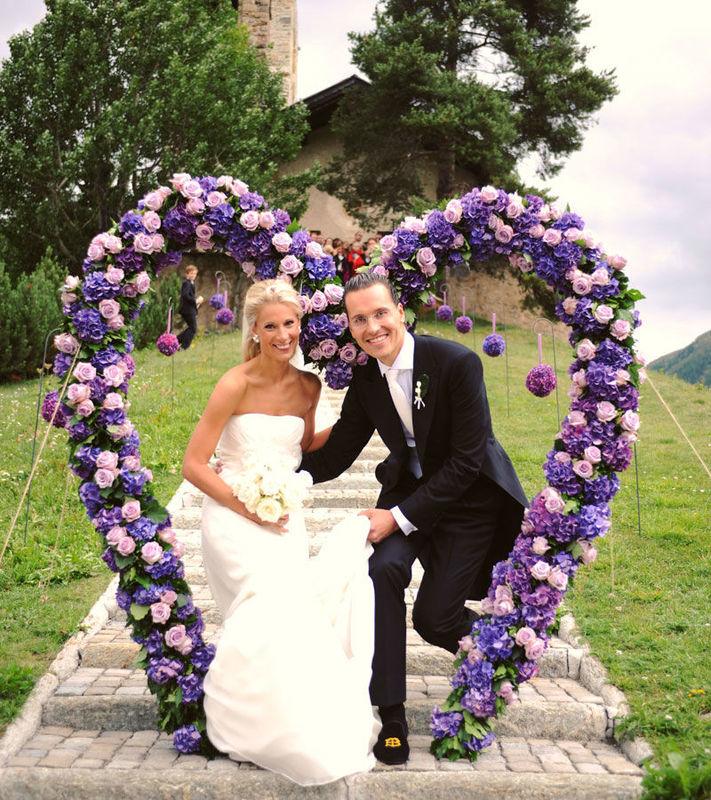 Beispiel: Ihre Hochzeit im Hotel, Foto: Suvretta House.