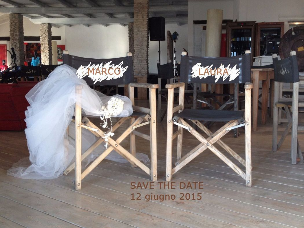 Matrimonio in spiaggia. Save the date