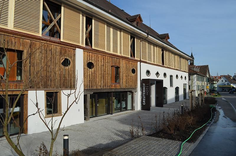 Beispiel: Fassade, Foto: Greuterhof Islikon.