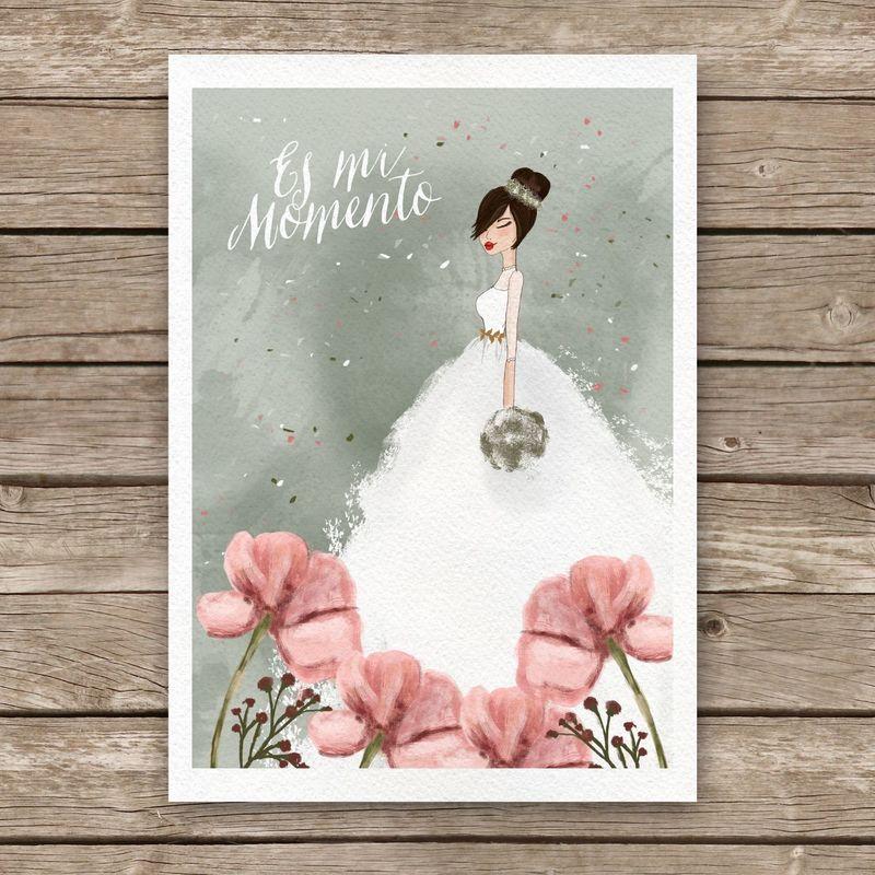 Bridal Fashion Sketch 1