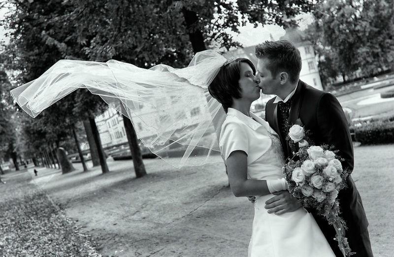 Beispiel: Wunderschöne Hochzeitsfotos, Foto: Vision2Pixel.