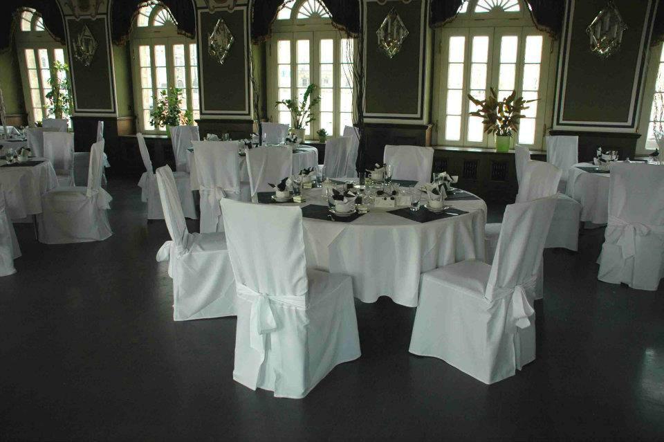 Beispiel: Hochzeitsbankett, Foto: Italienisches Dörfchen.