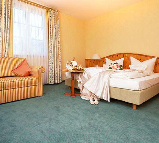 Beispiel: Zimmer, Foto: Freisinger Hof.