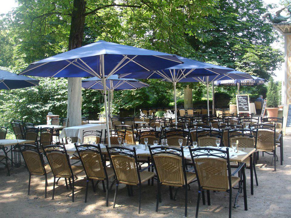 Beispiel: Terrasse, Foto: Restaurant & Café Drachenhaus.