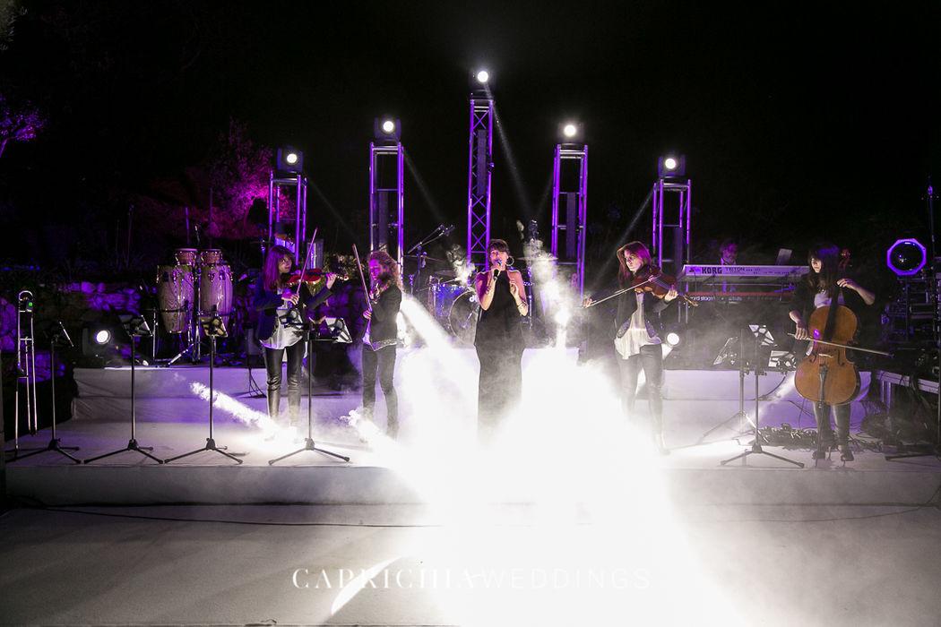 Big Band performance by Caprichia