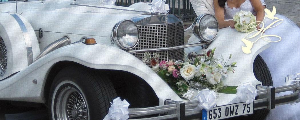 Beispiel: Ihr Hochzeitsautos, Foto: Hochzeitstraum.