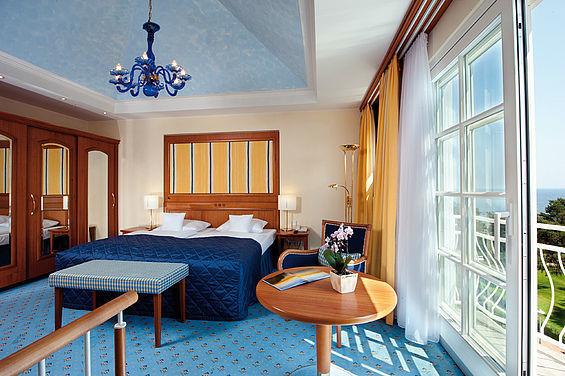 Beispiel: Turmsuite oberer Bereich, Foto: Travel Charme Strandhotel Zinnowitz.