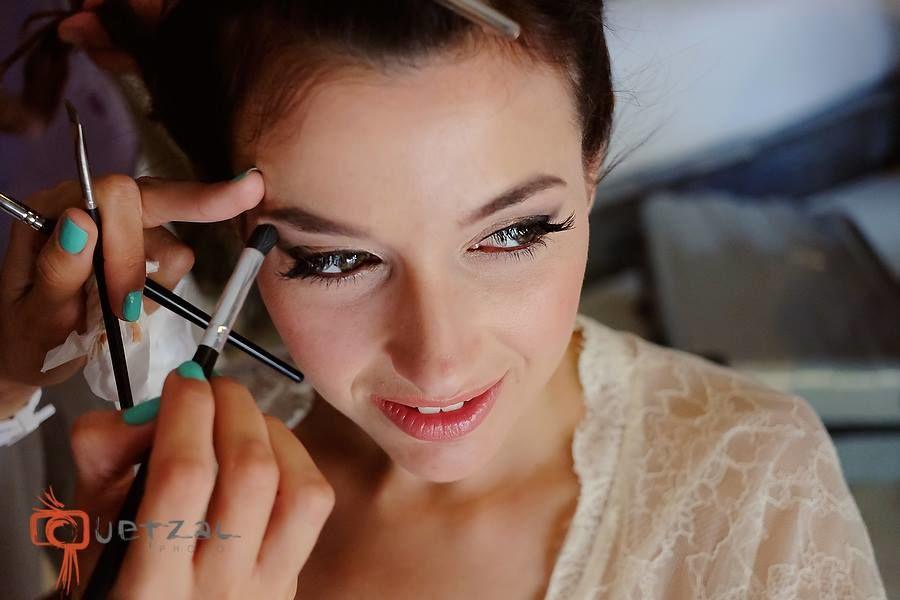 Maquillaje con aerografo y peinado Riviera maya / Playa del Carmen Cancun Tulum