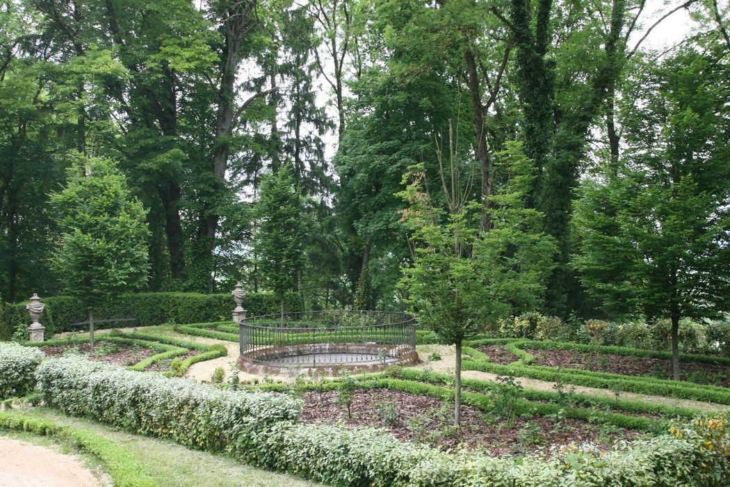Vue sur le petit Jardin Italien