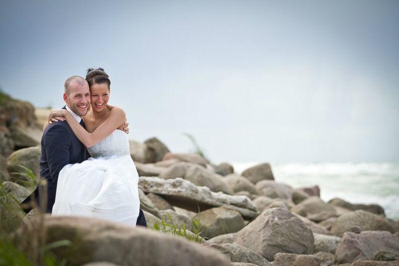 Beispiel: Portrait des Brautpaares, Foto: Ralf Dombrowski Wedding Photographer.