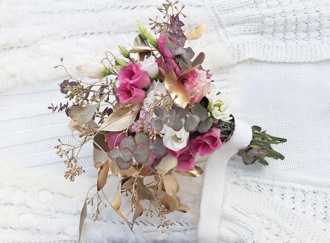 Ramo novia silvestre Flowercap