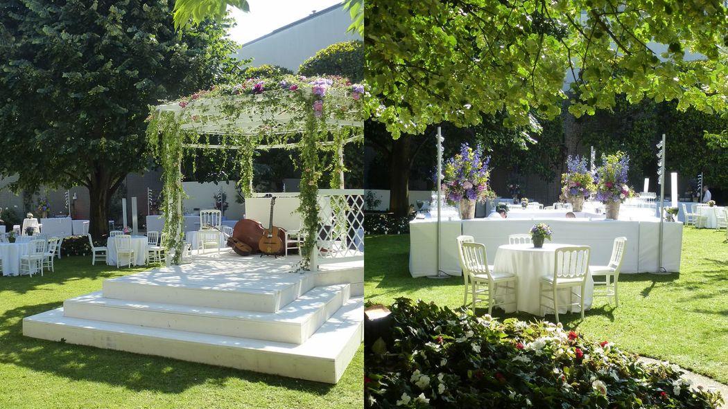 Cérémonie et mariage au jardin - Saint Clair le Traiteur