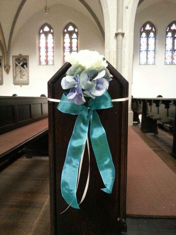 Beispiel: Kirchenschmuck, Foto: Zaubernuss.