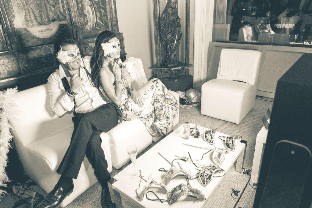 vip box - photobooth mariage