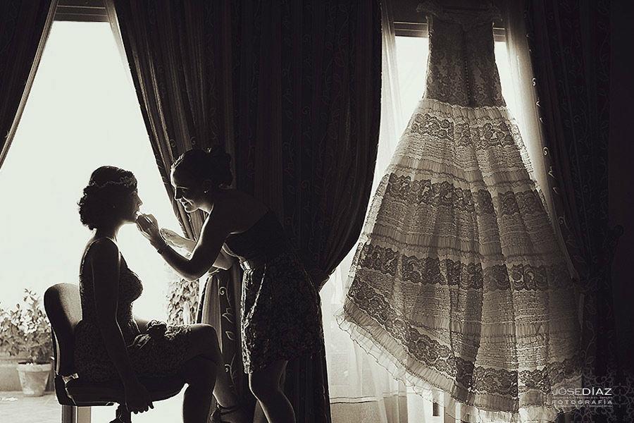 preparativos de boda, fotografos de boda, Jose Díaz
