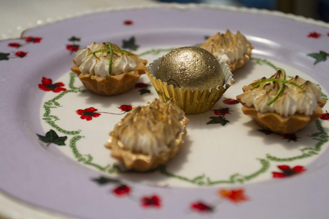 Mini delicias para mesas de postres