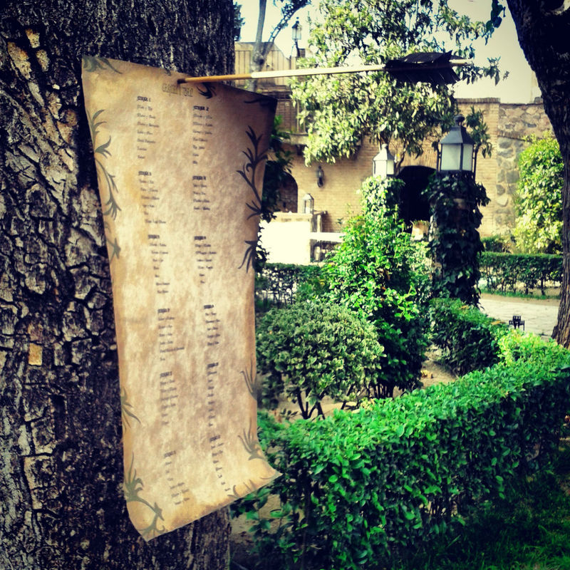 Seating plan en Hacienda del Cardenal