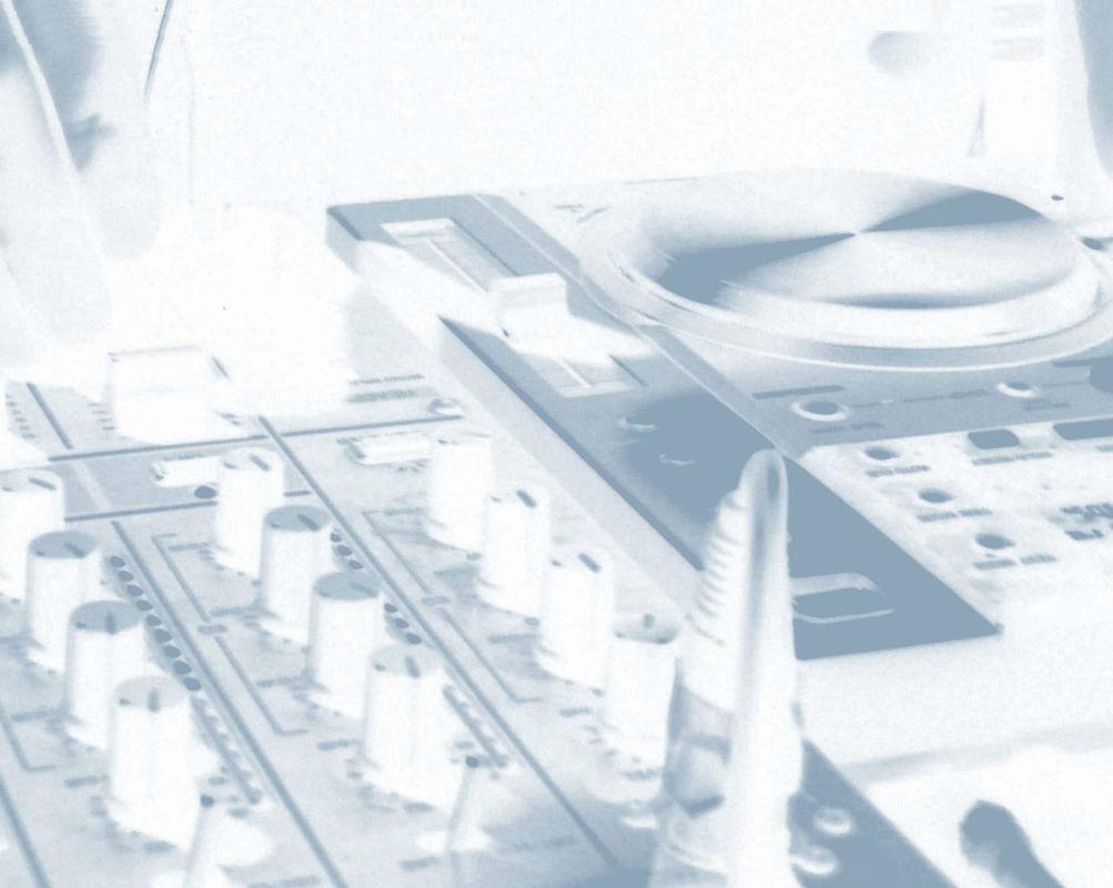 Beispiel: Ton- und Lichttechnik, Foto: DJ Oli TD.