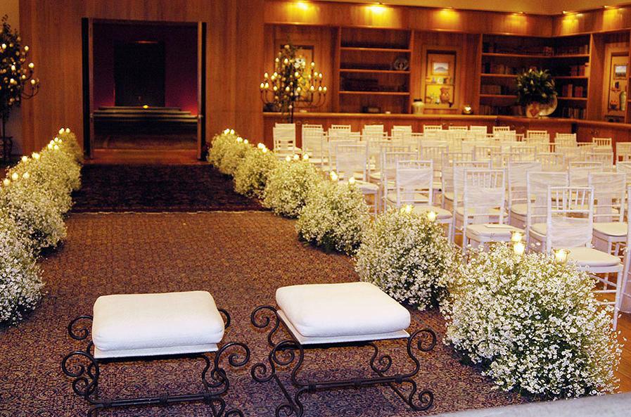 Salón Club de Banqueros para bodas en DF.