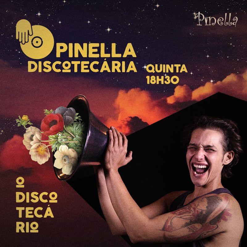 Flyer - Pinella Discotecária (às quintas)