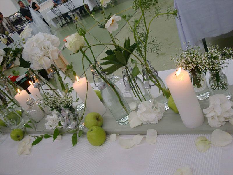 Beispiel: Tischschmuck, Foto: Blütenreich.