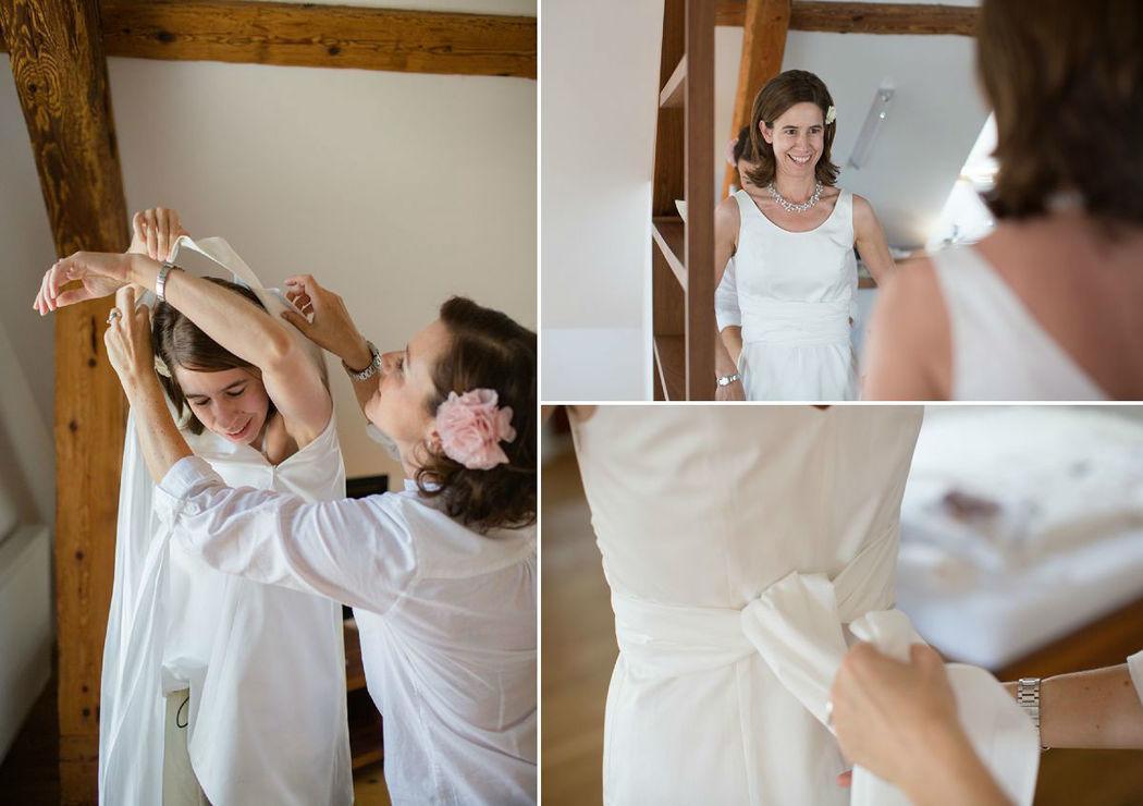 Beispiel: Fotos von den Vorbereitungen, Foto: Dorelies Hofer.