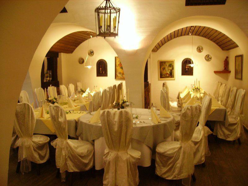 Beispiel: Räumlichkeiten - Bankett, Foto: Restaurant Schlosskeller.