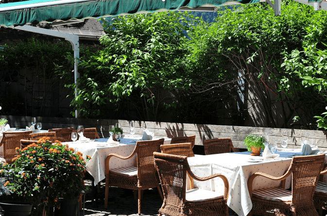 Beispiel: Terrasse, Foto: Hotel Hirschen Schwarzenberg.