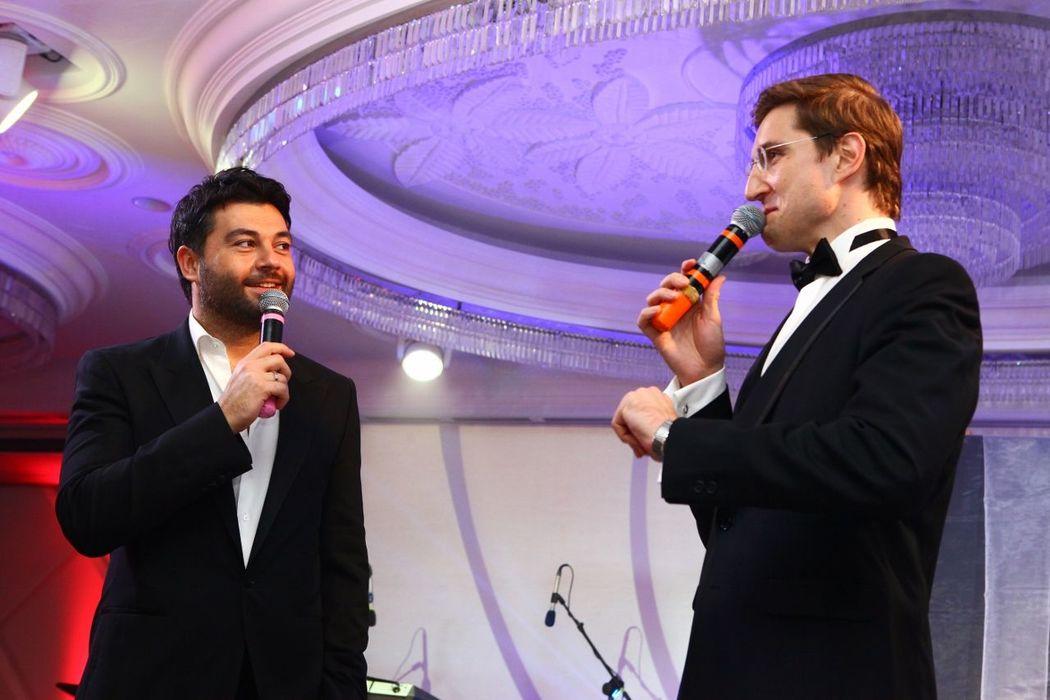 Алексей Чумаков и Роман Акимов. Гастроли в Иркутске.