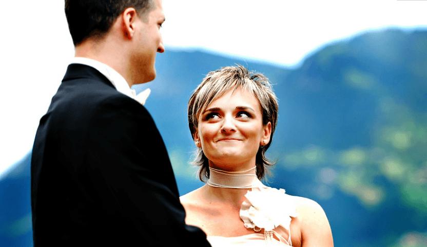 Beispiel: Kreative Hochzeitsfotografie, Foto: Traumfoto Hochzeitsfotografie.