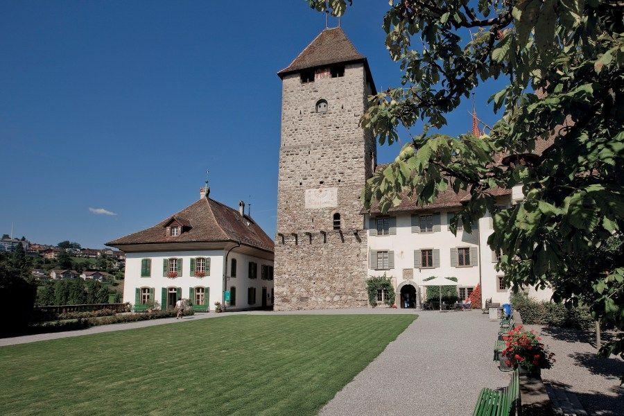 Schloss Spiez, Innenhof