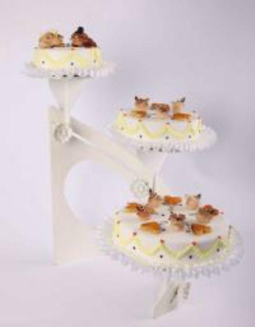 Beispiel: Hochzeitstorte: Motto Torte, Foto: Beck Lyner.
