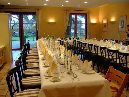 Beispiel: Restaurant - Tafel, Foto: Hotel Arte Schwerin.