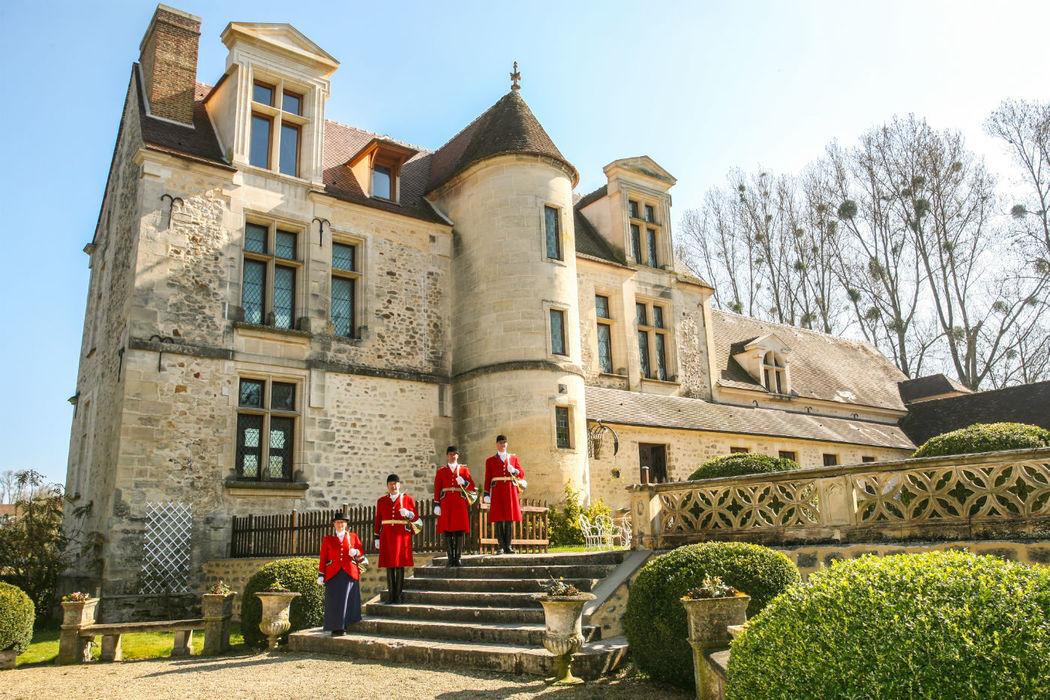 Château de Pontarmé - Les trompes du Flanache